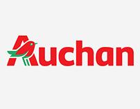 Auchan | Custom Lettering & Logotype