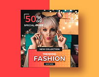 Free Fashion Social Media Banner Template