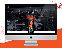 Reboost Energy Drink Website & App Design