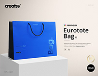 Eurotote Bag 2 Mockup Set