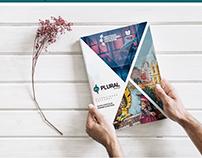 Marca e capa de revista - Plural