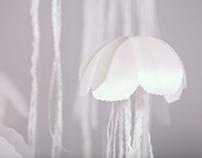 Medusa Nocticula 7 – Paper lamp