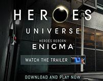 Heroes Universe mobile game website