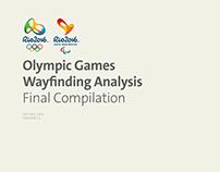 Rio 2016 Wayfinding & Signage Consultancy