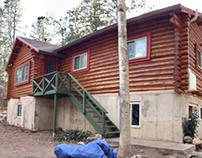 Colorado Springs Log Home Restoration