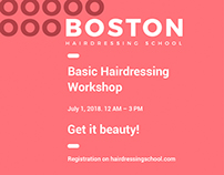 Boston Hairdressing School | Creative Templates Suite