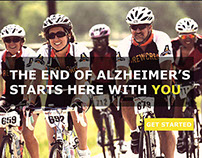 Alzheimer's Campaign Web Design