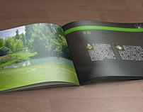 Brochure for golf club ( 4-2013 )