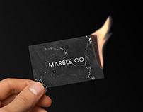 Marble Co - Branding