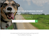 Parking Place Rental Website