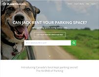 Parking Place Rental Website
