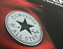 Converse Leather Window