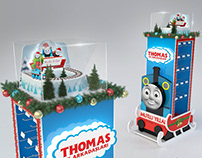 Thomas and Friends Christmas Display Stand