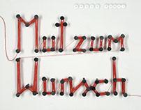 "Album Cover + Artwork ""Mut zum Wunsch"" Band:Wende Punkt"
