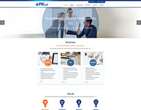 PK LLP Corporate site redesign