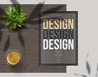 Design Proposal Layout with Tan Accent