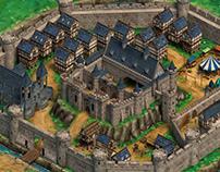 Northern Europe Medieval Castle