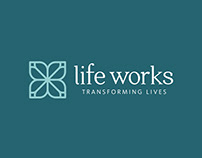 Life Works Branding and Website
