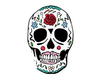 Day of the Dead   Illustration