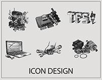 Icon design for web site