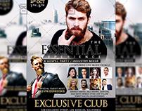 Gospel Music - Club A5 Flyer Template