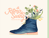 a Ritmo de Swing _ illustrated branding by Hittouch
