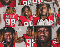 Atlanta Falcons Social Media Graphics 2018-19