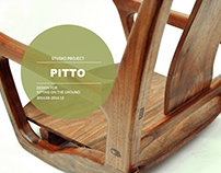 PITTO-Design for sitting on the ground