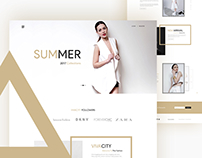 """VIVACITY"" E-commerce Template Page : 1 (Landing Page)"