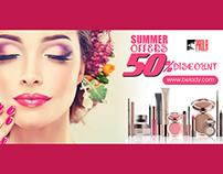 Banner Design For Beauty Expert.