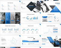 36+ Best Company business Blue PowerPoint templates dow