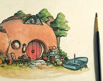 A Little Island Home.