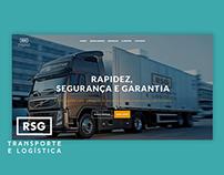 RSG transporte e logística - Website
