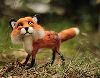 Poseable Fox