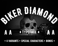 Biker Diamond - Hand Made Typeface