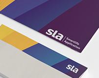 SLA logo & branding redesign
