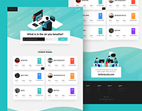 What's In The Air You Breathe - Wynd Landing Page