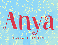 Anya – A Beautiful Handwriten Font