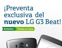 Colombian LG G3 Beats release - Movistar Online Store