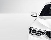 BMW 5 studio 2017