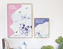 Posters inspired by Ed Sheeran music