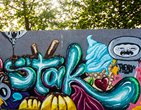 Most Wanted Graffiti Festivali - Stak67