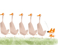 The fox and geese