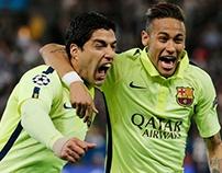 Retouch_Edit for Suarez and Neymar