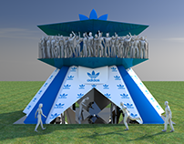PROPUESTA STAND ADIDAS LOLLAPALOOZA 2016