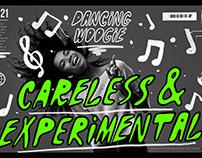 Dancing Woogie - Experimental Fonts
