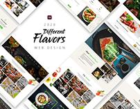 Different Flavors Website