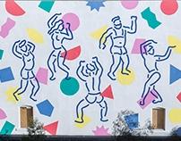 Miami Horror Mural