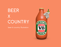 beer x country