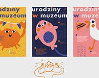 birthday in a museum ✦ event branding